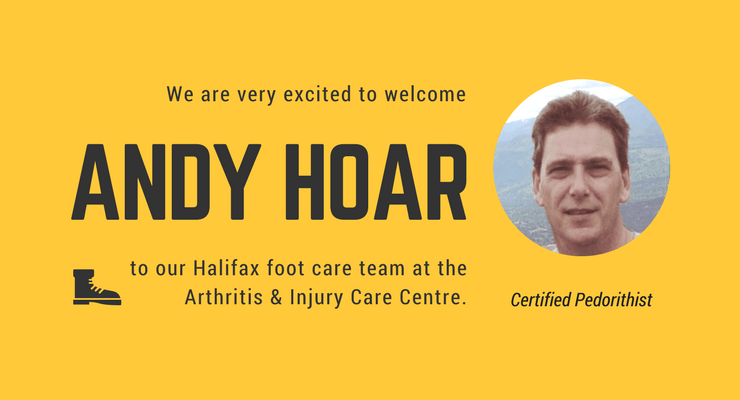Andy Hoar foot care in Halifax