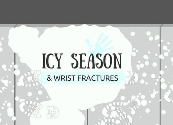 wrist fractures icy season