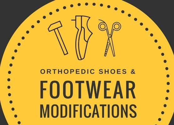 orthopedic shoes and footwear modifications